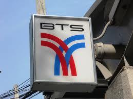 BTS sign