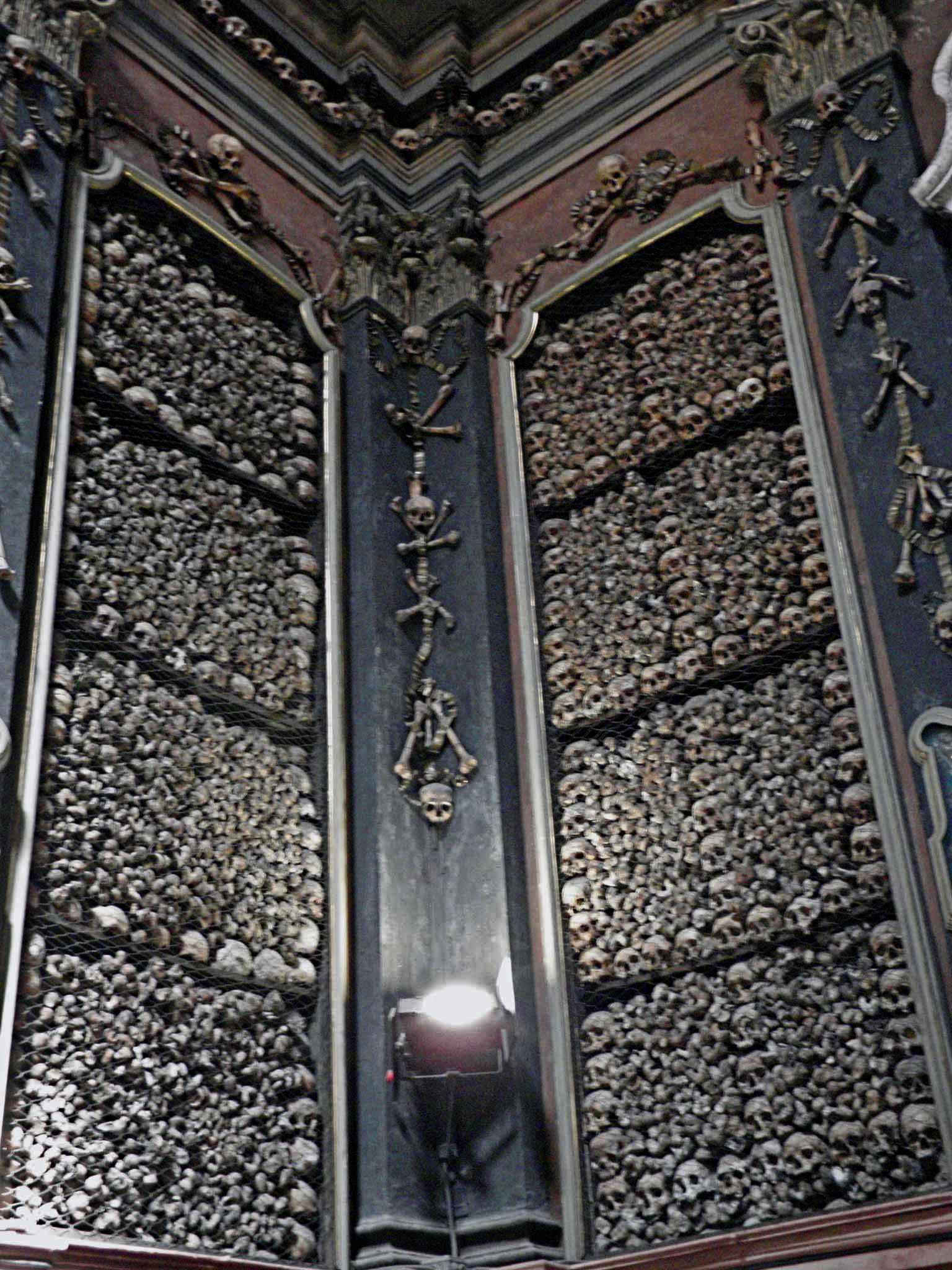 walls of bones
