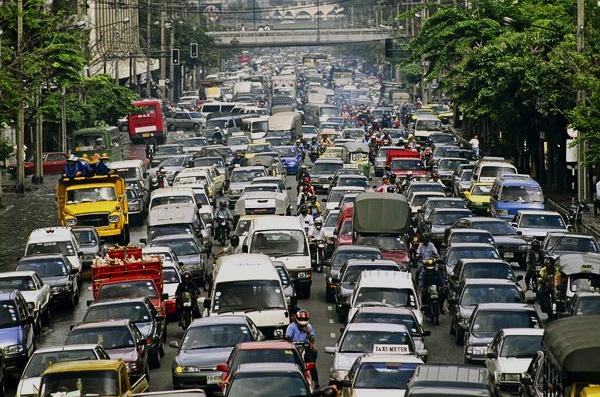 bangkok traffic jam