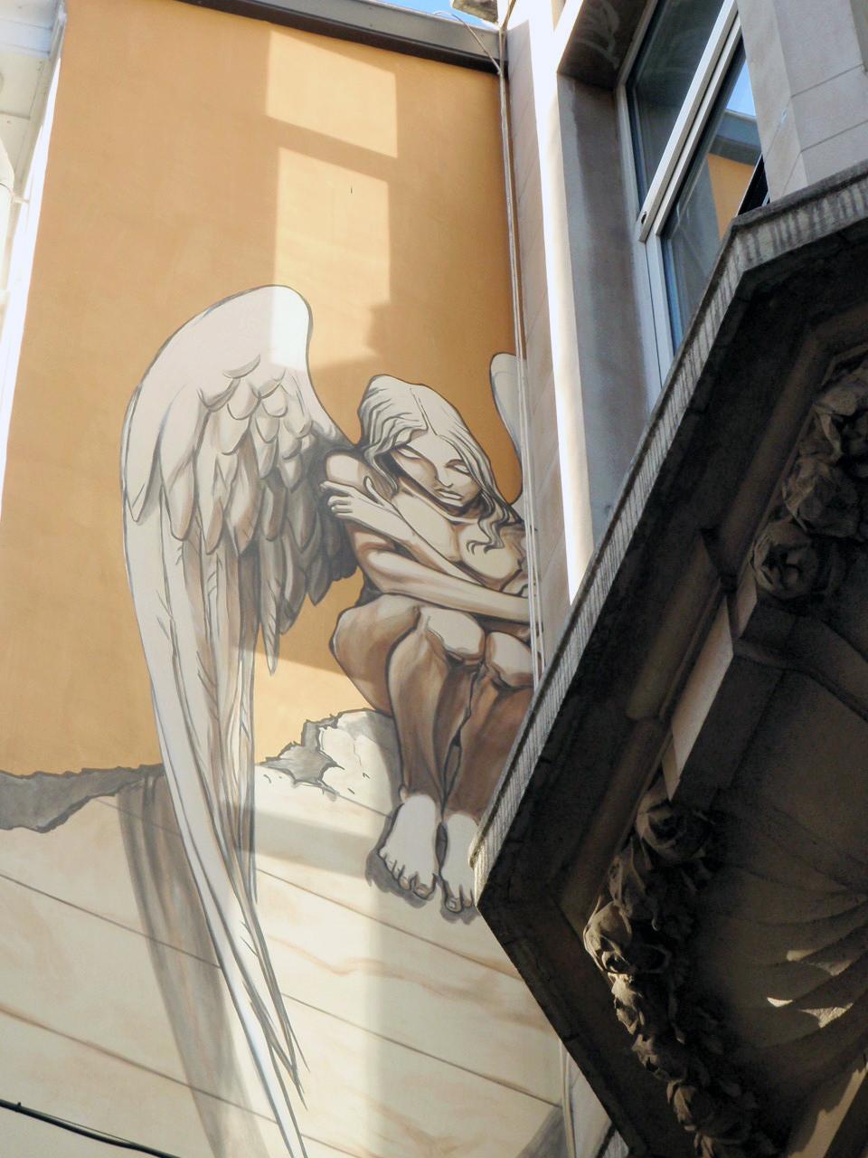 L'ange de sambre
