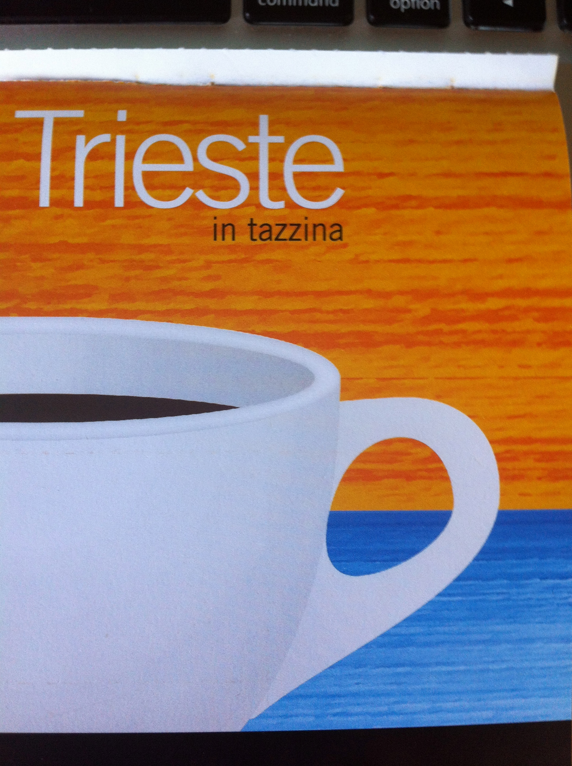 Coffee booklet - Trieste in tazzina