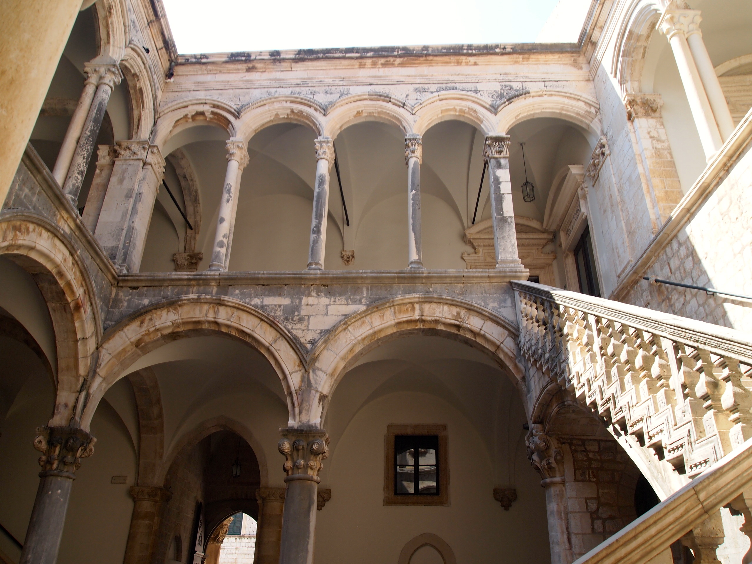 Interior courtyard of Rector's Palace