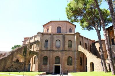 Back of San Vitale
